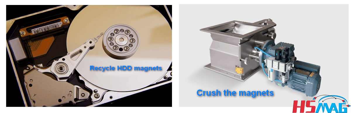 Recycle HDD Magnets From Old Hard Disk Drive