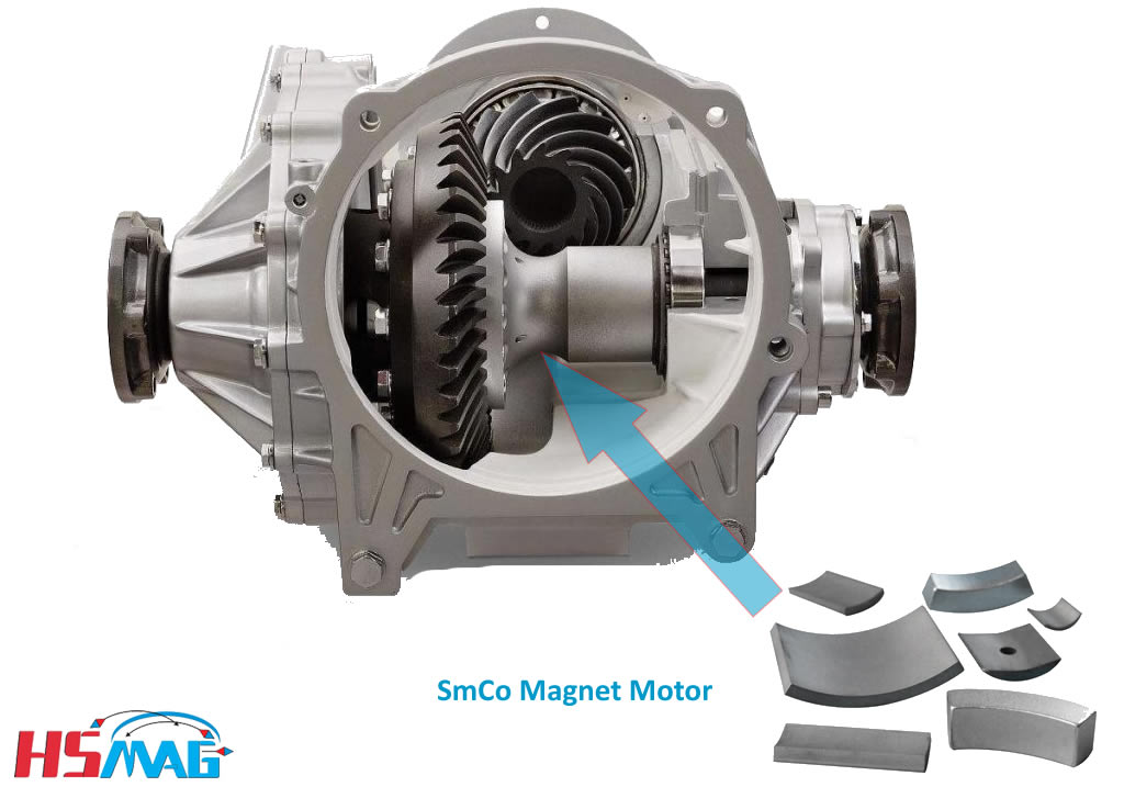 SmCo Magnet Motor