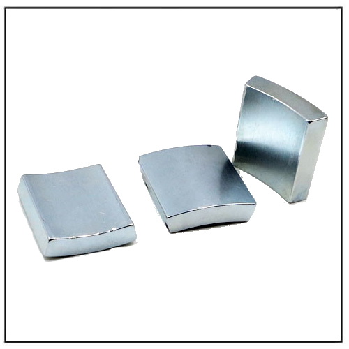 Zn Coated Servo Motor Magnets N35H