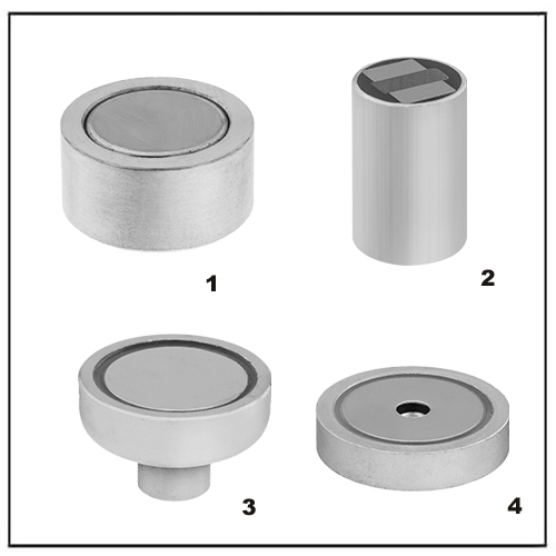 Encased Neodymium Threaded Hole Magnets