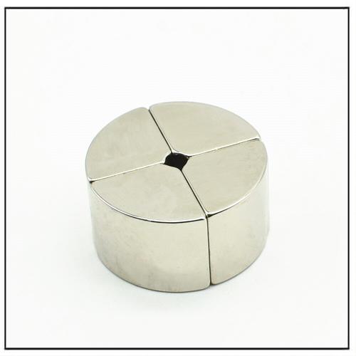 N45H NdFeB Arc Segment Hollow-Shaft Encoder Magnet