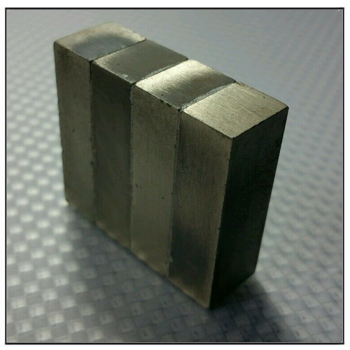 4 Blocks Laminated Neodymium Magnet