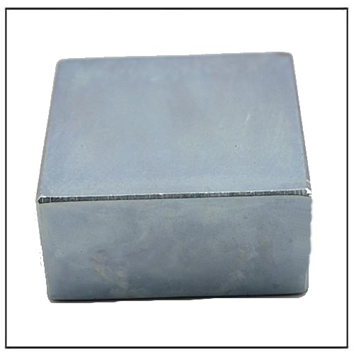 Zinc Coated Neodymium Square Wind Power Motor Magnet N42
