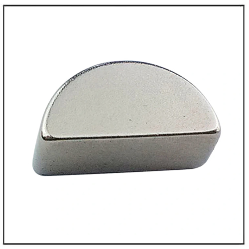 Half-Round N52 Neodymium Semicircle Magnet Manufacturer