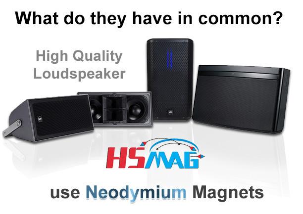 Neodymium Magnet Speakers loudspeakers