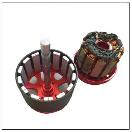 BLDC Motor Magnetic Parts Outer Rotor