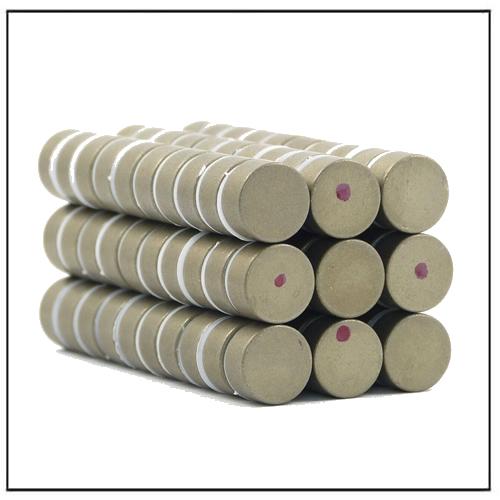 Axially Magnetized Samarium Cobalt Disk Magnets