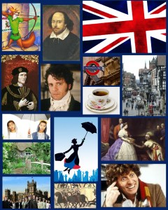 British Lit Influence Map