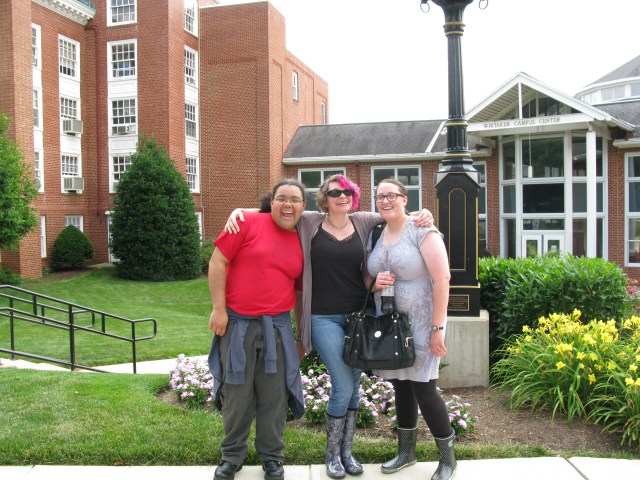 Iris, Heather, EMily