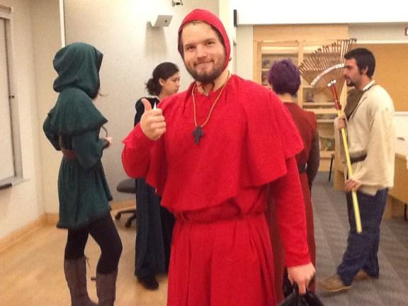 The happy inquisitor
