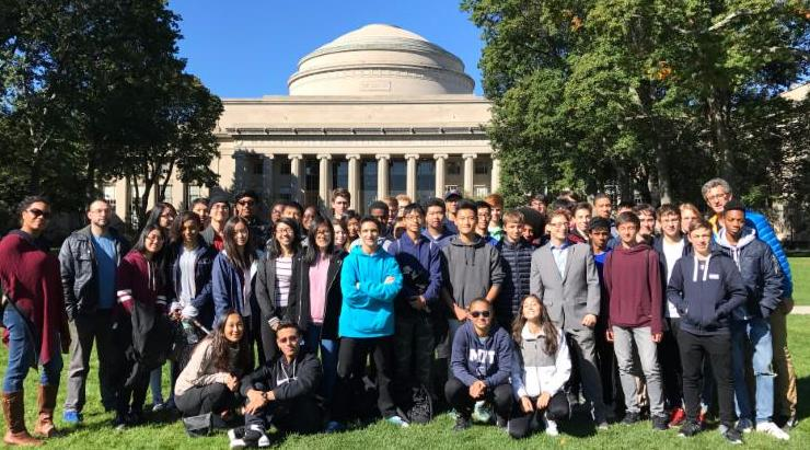 HSMSE students at MIT
