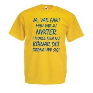 Nykter i morse – M (T-shirt)