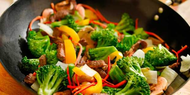 Cenar Wok de Verduras