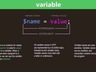 المتغيرات في PHP