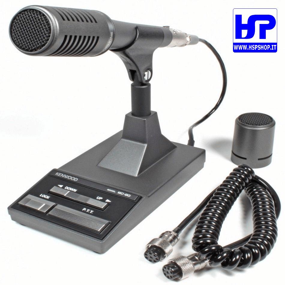 medium resolution of kenwood mc 90 desktop microphone