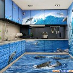 Vitrified Floor Tiles Design For Living Room Florida مطابخ 3d باللون الأزرق - أجمل وأشيك المطابح ثلاثية الأبعاد ...