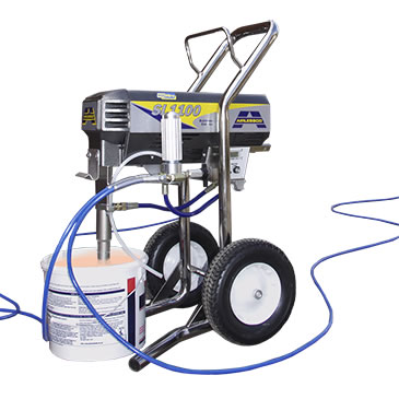 Large Volume Airless Sprays Hire