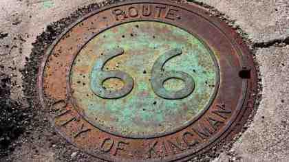 Route 66 tombino storico