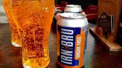 Bevanda gassata scozzese Irn Bru
