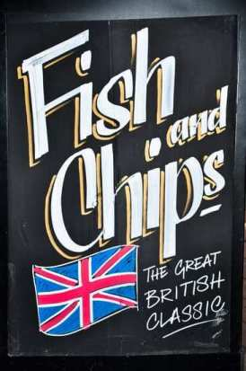 fish and chips inglese