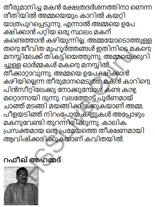 Adisthana Padavali Malayalam Standard 10 Solutions Unit 1 Chapter 3 Ammathottil 35