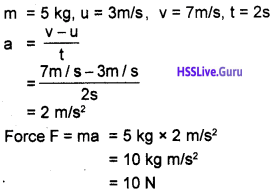 Kerala Syllabus 9th Standard Physics Solutions Chapter 3 Motion and Laws of Motion 6