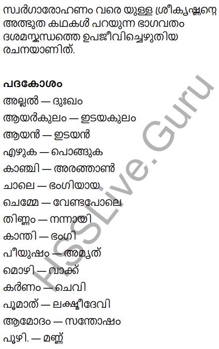 KeralaPadavali Malayalam Standard 9 Solutions Unit 5 Chapter 1 Ambadiyilekku 18