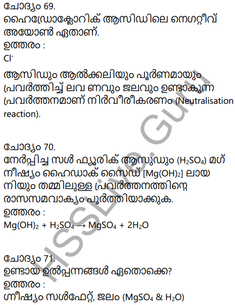 Kerala Syllabus 9th Standard Chemistry Solutions Chapter 5 Acids, Bases, Salts in Malayalam 31