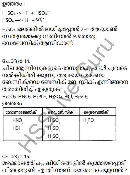 Kerala Syllabus 9th Standard Chemistry Solutions Chapter 5 Acids, Bases, Salts in Malayalam 62