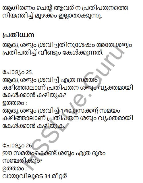 Kerala Syllabus 9th Standard Physics Solutions Chapter 7 Wave Motion in Malayalam 24
