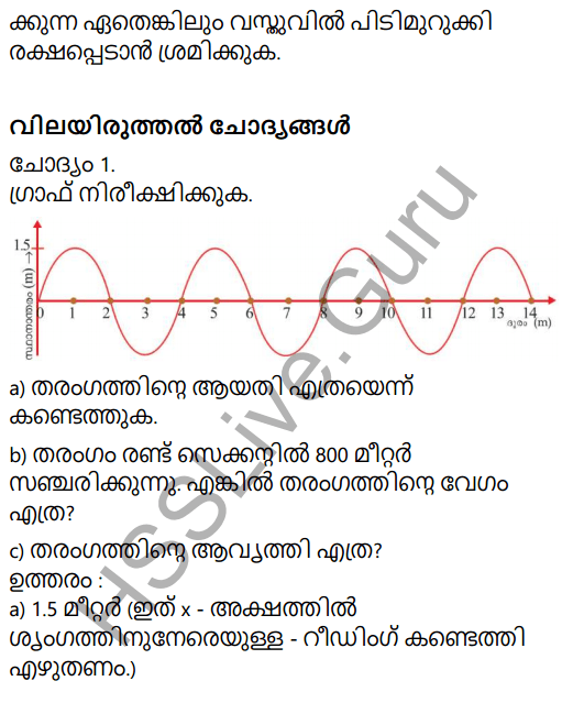 Kerala Syllabus 9th Standard Physics Solutions Chapter 7 Wave Motion in Malayalam 40