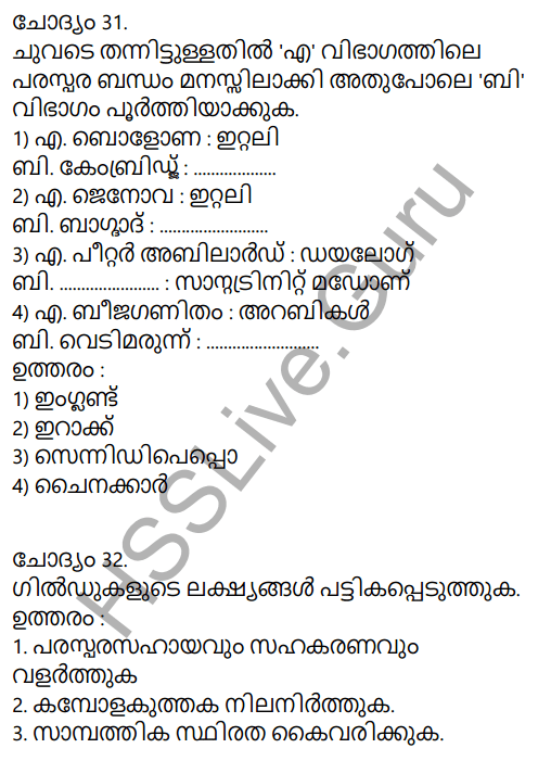 Kerala Syllabus 9th Standard Social Science Solutions Chapter 2 The East and the West Era of Exchanges in Malayalam 24