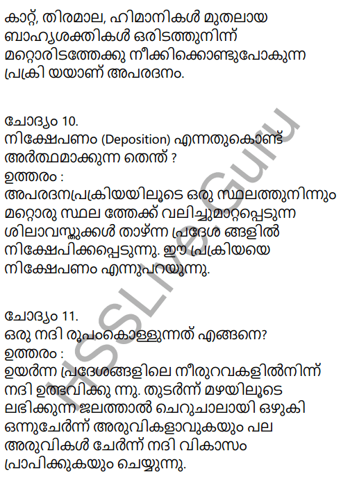 Kerala Syllabus 9th Standard Social Science Solutions Chapter 4 By the Hands of the Nature in Malayalam 8