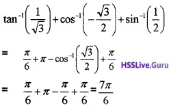 Plus Two Maths Inverse Trigonometric Functions 3 Mark Questions and Answers 6