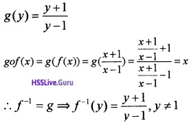 Plus Two Maths Relations and Functions 6 Mark Questions and Answers 13