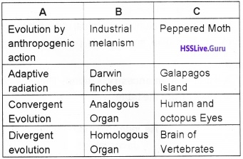 Plus Two Zoology Chapter Wise Questions and Answers Chapter 5 Evolution - 10