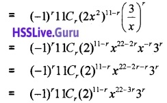 Plus One Maths Binomial Theorem Three Mark Questions and Answers 12