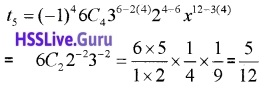 Plus One Maths Binomial Theorem Three Mark Questions and Answers 16