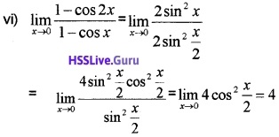 Plus One Maths Limits and Derivatives Three Mark Questions and Answers 17