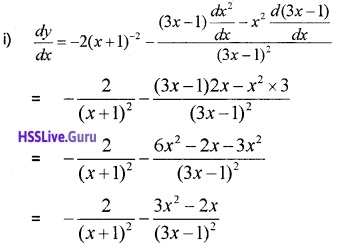 Plus One Maths Limits and Derivatives Three Mark Questions and Answers 39