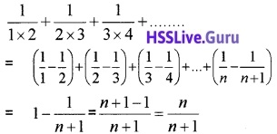 Plus One Maths Sequences and Series Three Mark Questions and Answers 12