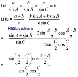 Plus One Maths Trigonometric Functions Three Mark Questions and Answers 17