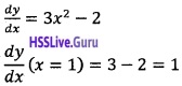 Plus Two Maths Application of Derivatives 3 Mark Questions and Answers 46