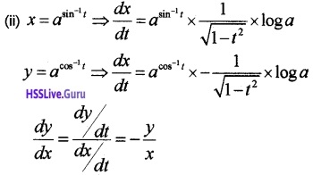 Plus Two Maths Continuity and Differentiability 3 Mark Questions and Answers 42