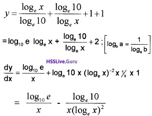 Plus Two Maths Continuity and Differentiability 3 Mark Questions and Answers 9