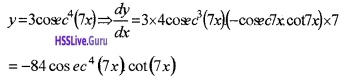 Plus Two Maths Continuity and Differentiability 4 Mark Questions and Answers 105