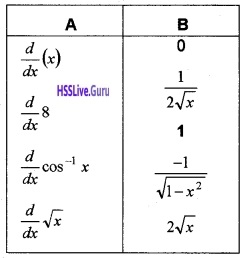 Plus Two Maths Continuity and Differentiability 4 Mark Questions and Answers 98