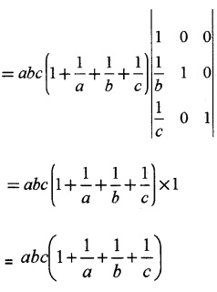 Plus Two Maths Determinants 4 Mark Questions and Answers 41