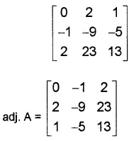 Plus Two Maths Determinants 4 Mark Questions and Answers 42
