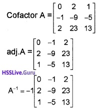 Plus Two Maths Determinants 4 Mark Questions and Answers 59
